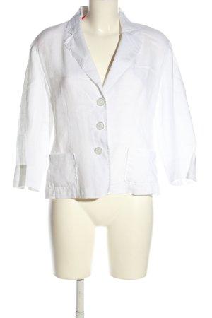Cassani Blouse en lin blanc style décontracté
