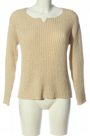 Cassani Crewneck Sweater cream casual look