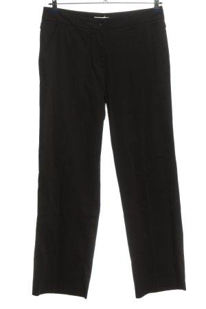 Cassani Stoffen broek zwart casual uitstraling