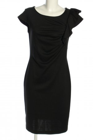 Cassani Stretchkleid schwarz Business-Look