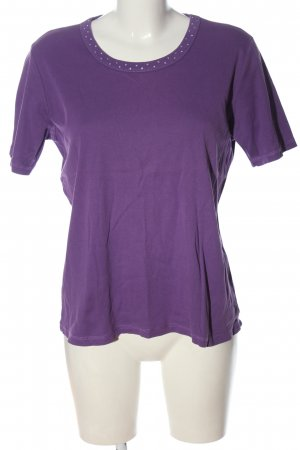 Cassani Knitted Jumper lilac casual look