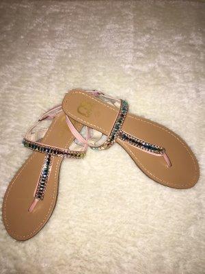 Cassis funkelnde neue Sandalen