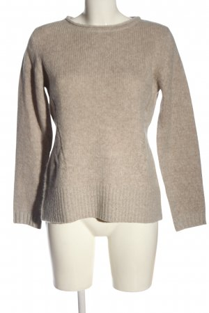 Cassis Crewneck Sweater brown casual look