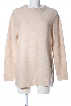 Cassis Crewneck Sweater cream flecked casual look