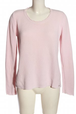 Cassis Crewneck Sweater pink casual look