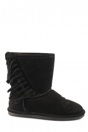 Cassis Slouch Booties black casual look