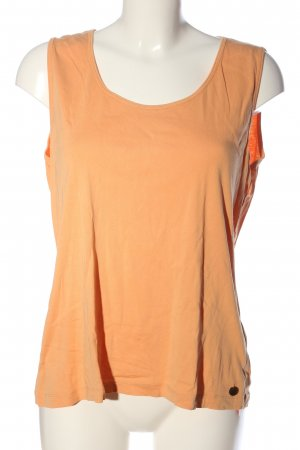 Cassis Strappy Top light orange casual look