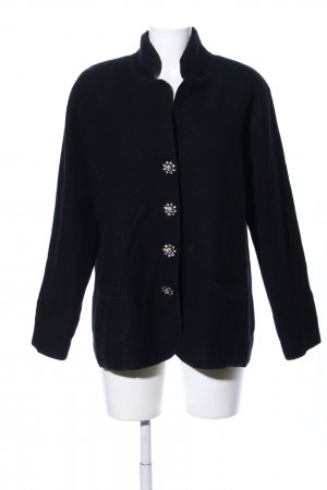 Cassis Wool Jacket black casual look