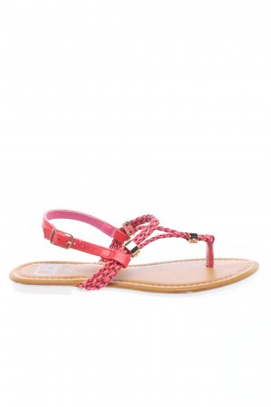 Cassis Toe-Post sandals red casual look
