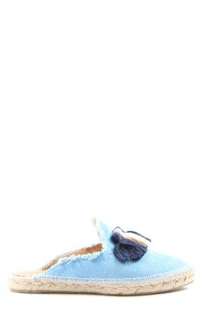 Castañer Espadrillas blu stile casual