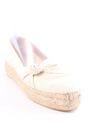 Castañer Espadrille Sandals cream casual look