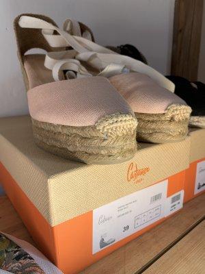 Castañer Platform High-Heeled Sandal pink