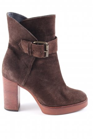 Castañer Platform Booties brown elegant