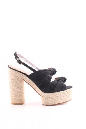 Castañer Slingback Pumps black casual look