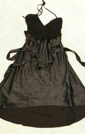 Castro Evening Dress black silk