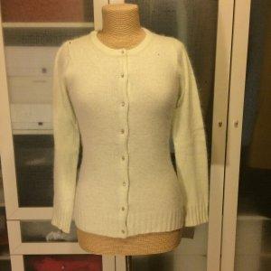 Castro Cardigan tricotés vert pâle laine