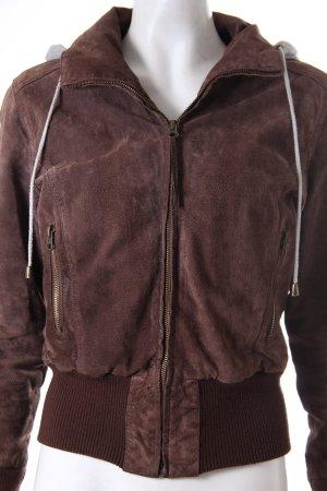 Castro Jacket black brown-grey