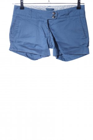 Castro High-Waist-Shorts blau Casual-Look