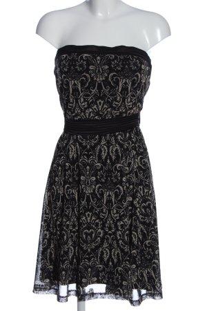 Castro Off-The-Shoulder Dress black-natural white allover print elegant