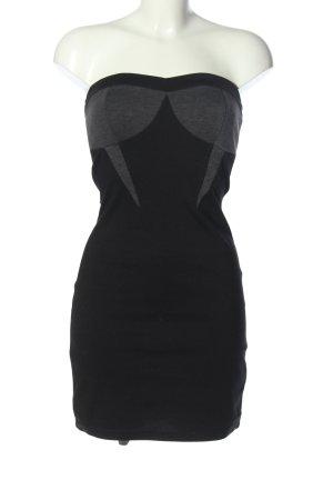 Castro Off-The-Shoulder Dress black-light grey casual look