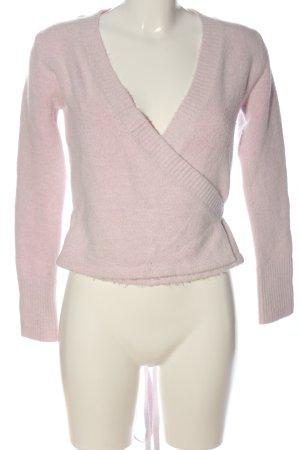 Castro Maglione lavorato a maglia rosa stile casual