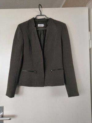 Only Unisex blazer groen-grijs-khaki