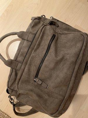 NOAH Funda para portátil marrón grisáceo Imitación de cuero
