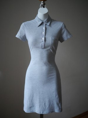 ♡ Casual Chic: Enges Polokleid von AMERICAN APPAREL graumeliert, super Zustand, NP 34,99€ ♡
