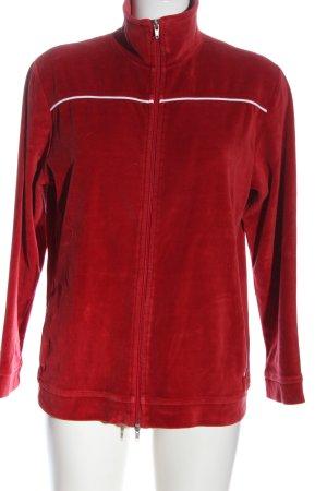 Casual&Co Fleece Jackets red casual look