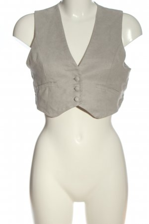 Casual Deluxe Waistcoat light grey casual look