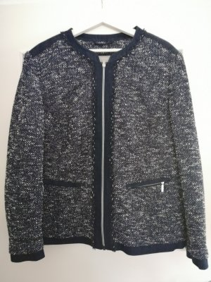 Canda Tweed Blazer dark blue