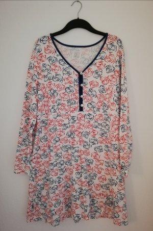 Casual dress mit Rosenprint