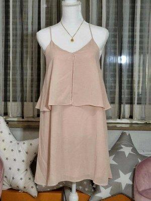 Mango Summer Dress dusky pink