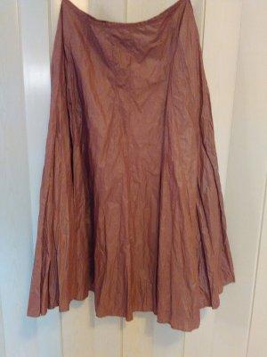Animale Falda de tafetán rosa-violeta