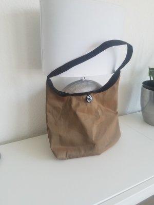 Casual Handtasche in Braun-Beige