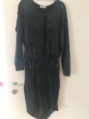 Cotton Candy Maxi Dress anthracite