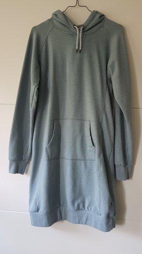 UpFashion Vestido con capucha azul pálido