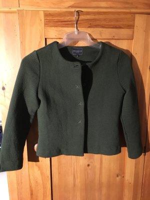 Josephine & Co. Sweat Blazer dark green-forest green cotton