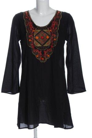 casual Longsleeve Dress multicolored casual look