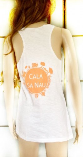 Casual Tank-Top mit Cala Sa Nau Print