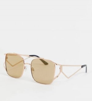 Cat-Eye Brille von Jeepers Peepers
