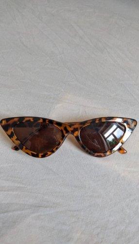 NoName Gafas de sol cuadradas coñac-marrón-negro