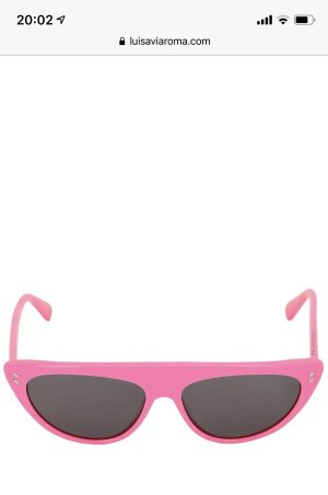 Stella McCartney Okulary retro różowy neonowy-czarny