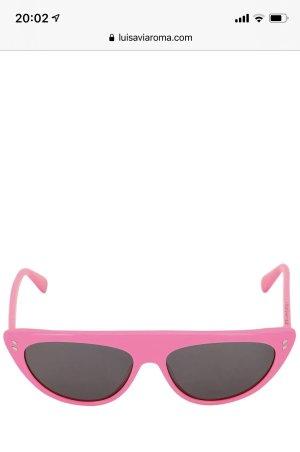 Stella McCartney Gafas Retro rosa neón-negro