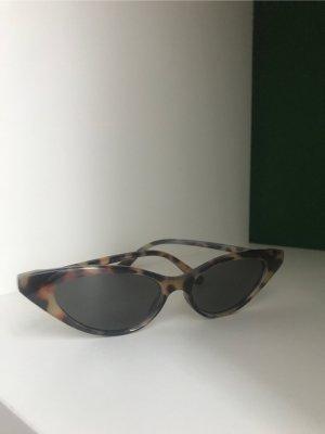 Zara Gafas de sol cuadradas multicolor