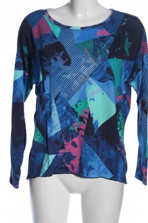 CAT NOIR Knitted Jumper abstract pattern casual look