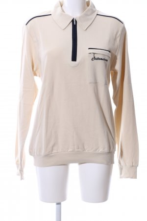 Catamaran Jersey marinero blanco puro look casual
