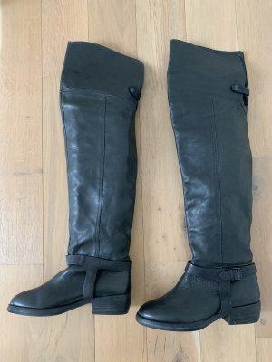 Catarina Martins Kniehoge laarzen zwart