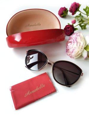 Anabella Gafas de sol ovaladas negro-color oro