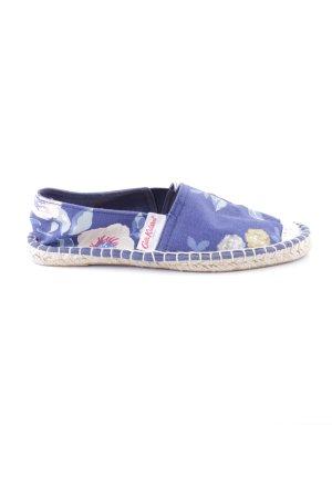 Cath Kidstone Espadrillas blu motivo floreale stile casual